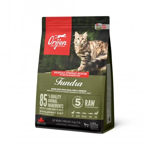 Alimentation pour chat - Orijen Tundra  pour chats