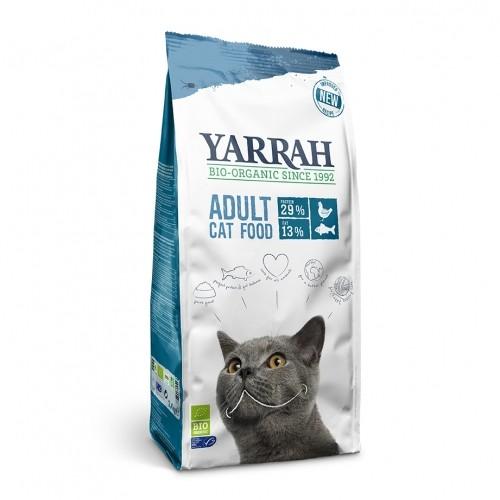Croquettes pour chat - Yarrah Croquettes Bio