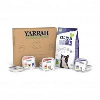 Aliments bio et sans céréales pour chat - Yarrah Box Passez au bio - Chat Stérilisé