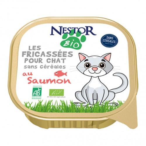 Alimentation pour chat - Nestor Bio Les fricassées pour chat pour chats