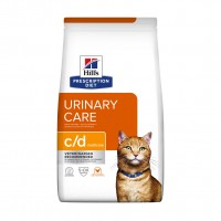 Prescription - Hill's Prescription Diet c/d Multicare Urinary Care - Croquettes pour chat Feline c/d Multicare