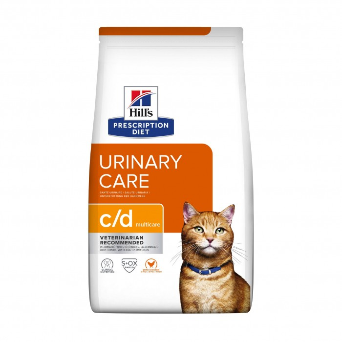Hill's Prescription Diet c/d Multicare Urinary Care - Croquettes pour chat-Feline c/d Multicare