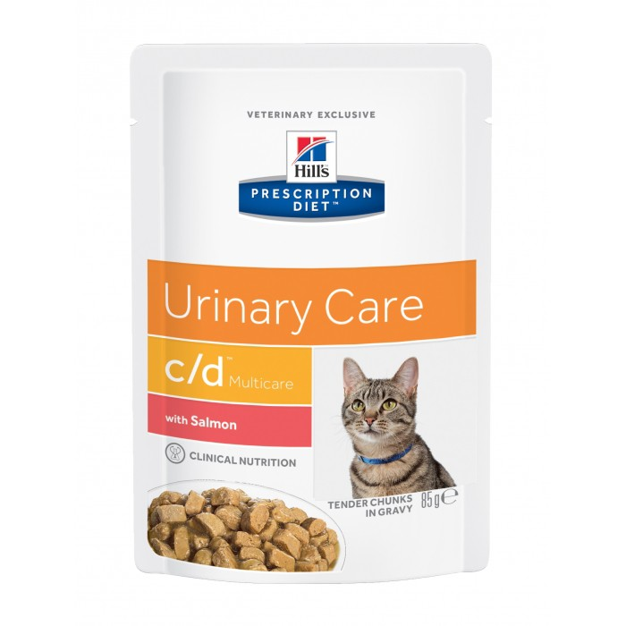 HILL'S Prescription Diet c/d Multicare Urinary Care - Pâtée pour chat-c/d Multicare Feline Mijoté