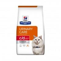 Prescription - Hill's Prescription Diet c/d Urinary Stress - Croquettes pour chat Feline c/d Urinary Stress