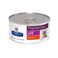 - Hill's Prescription Diet y/d Thyroid Care - Pâtée pour chat