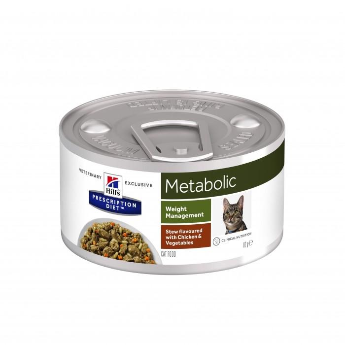 Alimentation pour chat - HILL'S Prescription Diet Metabolic Feline Mijoté pour chats