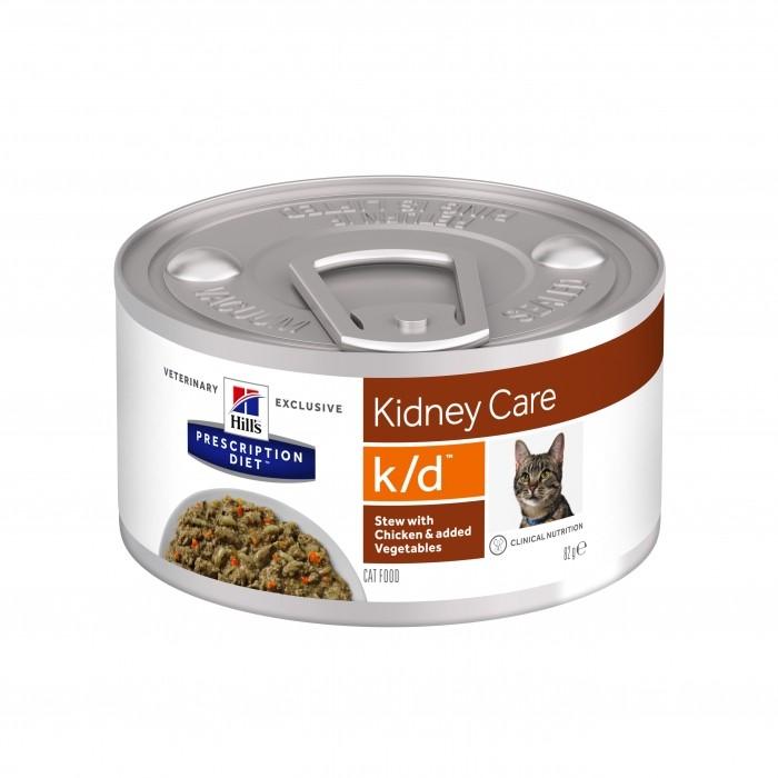 Alimentation pour chat - HILL'S Prescription Diet k/d Feline Mijoté pour chats