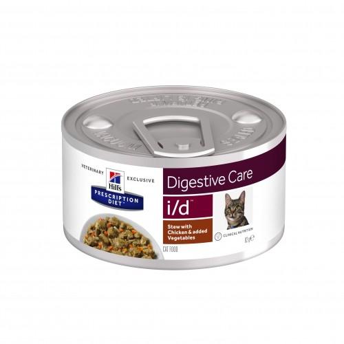 Alimentation pour chat - Hill's Prescription Diet Feline i/d Digestive Care - Pâtées pour chats