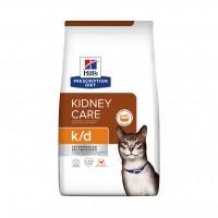 Prescription - Hill's Prescription Diet k/d Kidney Care - Croquettes pour chat Feline k/d