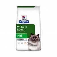 Prescription - Hill's Prescription Diet r/d Weight Reduction - Croquettes pour chat Feline r/d