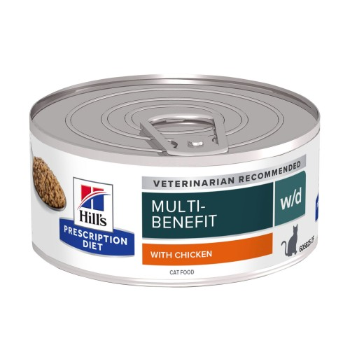 Alimentation pour chat - Hill's Prescription Diet w/d Digestive Management - Pâtée pour chat pour chats