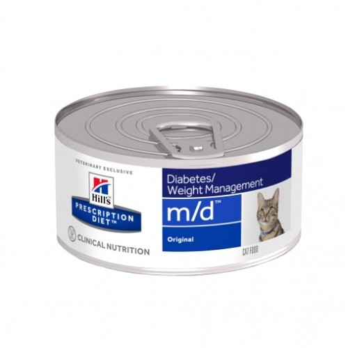 Alimentation pour chat - Hill's Prescription Diet m/d Diabetes Management - Pâtée pour chat pour chats
