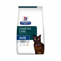Prescription - Hill's Prescription Diet m/d Diabetes Management - Croquettes pour chat Feline m/d