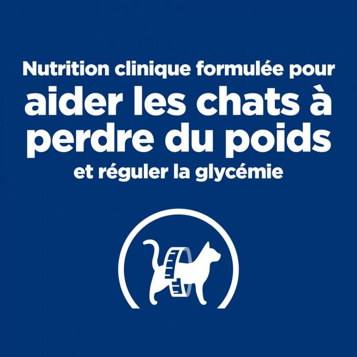 Alimentation pour chat - Hill's Prescription Diet m/d Diabetes Management - Croquettes pour chat pour chats