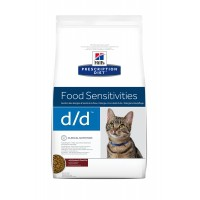 Prescription - HILL'S Prescription Diet Feline d/d skin Support