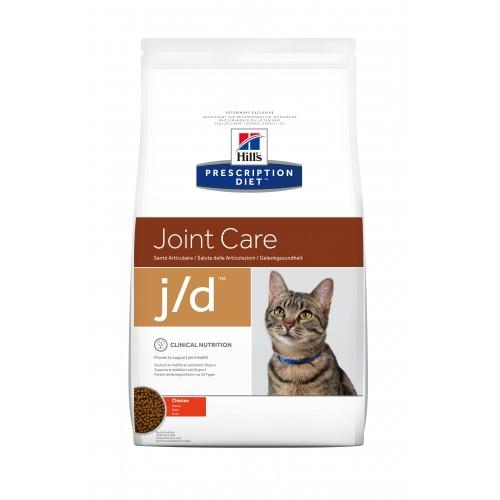 Alimentation pour chat - Hill's Prescription Diet j/d Joint Care - Croquettes pour chat pour chats