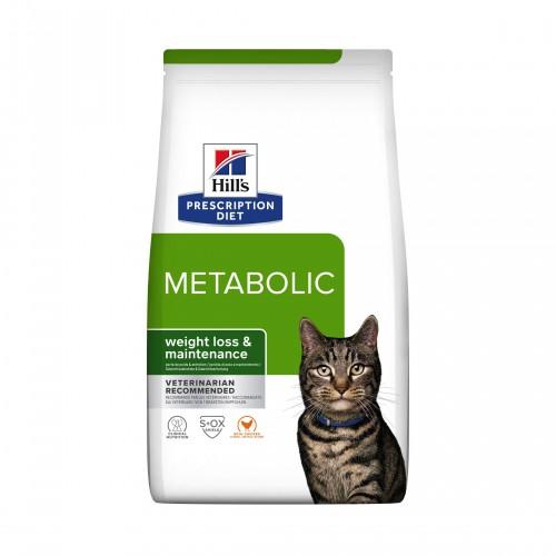 Alimentation pour chat - Hill's Prescription Diet Metabolic - Croquettes pour chat pour chats