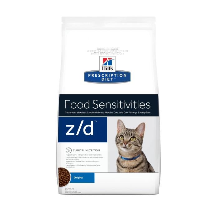 Allergies - Hill's Prescription Diet z/d Food Sensitivities pour chats