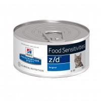 - Hill's Prescription Diet z/d Food Sensitivities - Pâtée pour chat