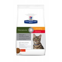 Prescription - HILL'S Prescription Diet Feline Metabolic + Urinary Stress