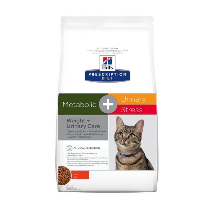 Alimentation pour chat - Hill's Prescription Diet c/d Urinary Stress + Metabolic - Croquettes pour chat pour chats