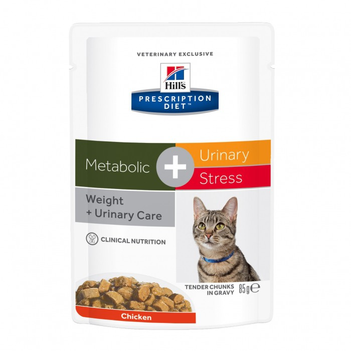 Alimentation pour chat - Hill's Prescription Diet Metabolic plus Urinary Stress pour chats