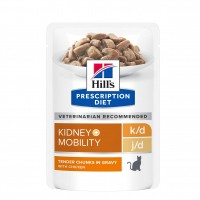 - Hill's Prescription Diet k/d + Mobility - Pâtée pour chat