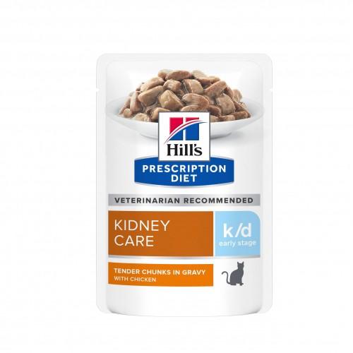 Alimentation pour chat - Hill's Prescription Diet k/d Early Stage Kidney Care - Pâtée pour chat pour chats