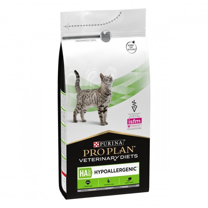Alimentation pour chat - Proplan Veterinary Diets HA Hypoallergenic pour chats
