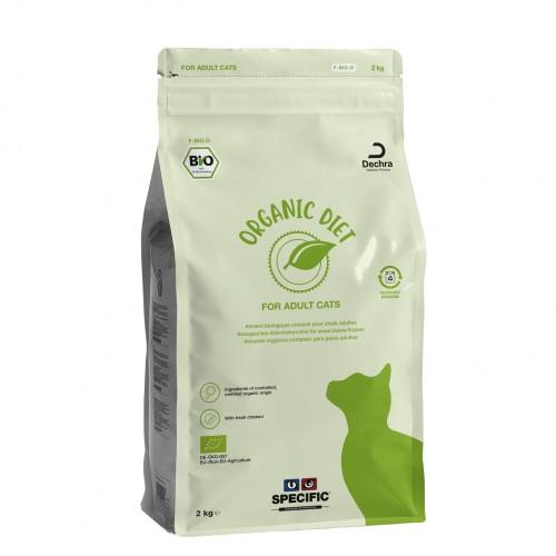Alimentation pour chat - SPECIFIC F-BIO-D Adult Organic pour chats