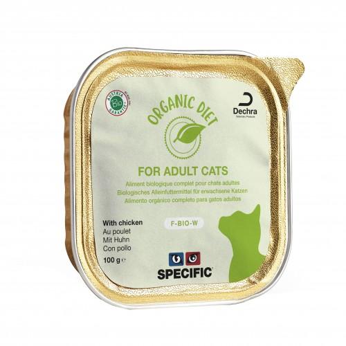 Alimentation pour chat - SPECIFIC F-BIO-W Organic pour chats