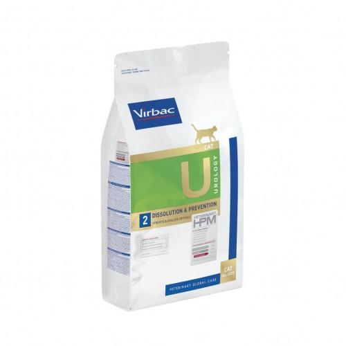 Alimentation pour chat - VIRBAC VETERINARY HPM Diététique Urology Dissolution & Prevention pour chats