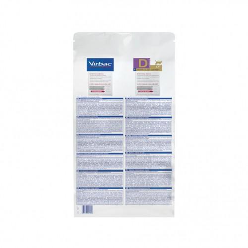 Alimentation pour chat - VIRBAC VETERINARY HPM Diététique Dermatology support pour chats