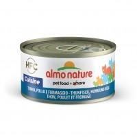 Pâtée en boîte pour chat - ALMO NATURE HFC Cuisine - Lot 6 x 70g