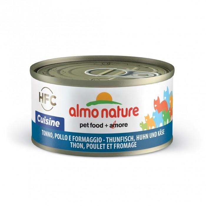Alimentation pour chat - Almo Nature HFC Cuisine - Lot 6 x 70g pour chats