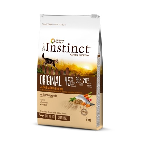 Alimentation pour chat - True Instinct Original Sterilized Adult pour chats