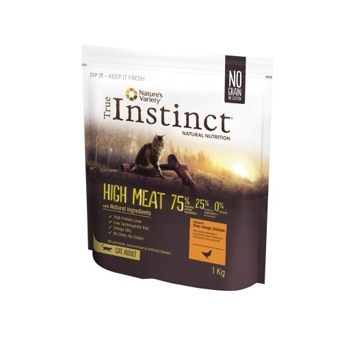 Alimentation pour chat - True Instinct  High Meat Adult Poulet pour chats