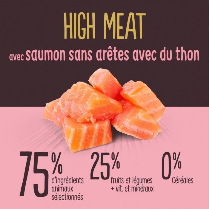 Alimentation pour chat - True Instinct High Meat Adult Saumon pour chats
