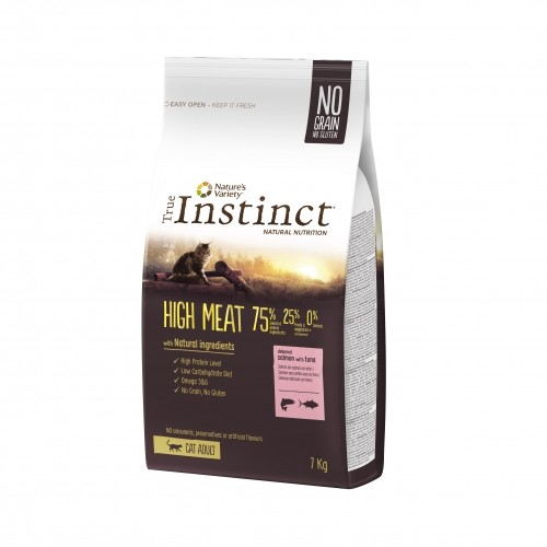 Alimentation pour chat - True Instinct High Meat Adult Saumon pour chats