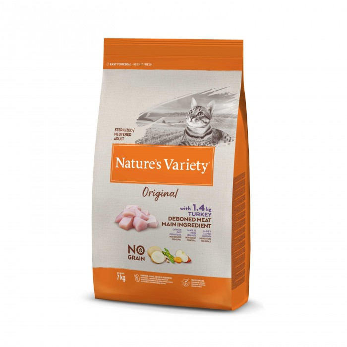 Alimentation pour chat - Nature's Variety Original No Grain Adult Sterilized pour chats