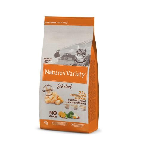 Alimentation pour chat - Nature's Variety Selected No Grain Adult Sterilized pour chats