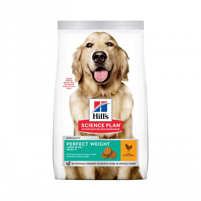 Alimentation pour chien - Hill's Science Plan Perfect Weight Adult Large pour chiens