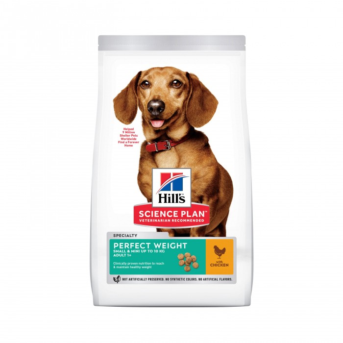 Alimentation pour chien - Hill's Science Plan Perfect Weight Adult Small & Mini pour chiens