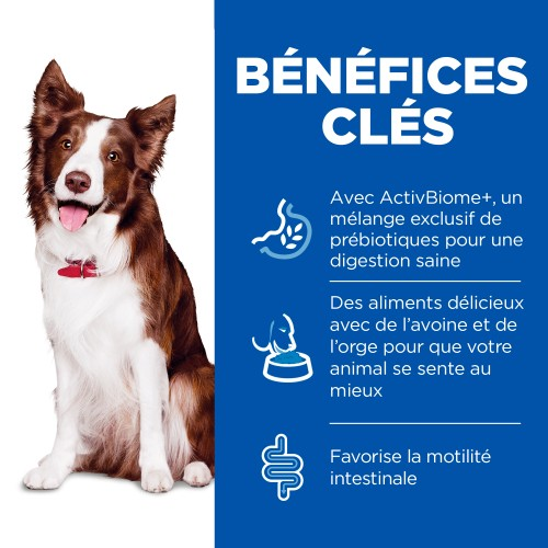 Alimentation pour chien - Hill's Science Plan Perfect Digestion Medium Adult pour chiens