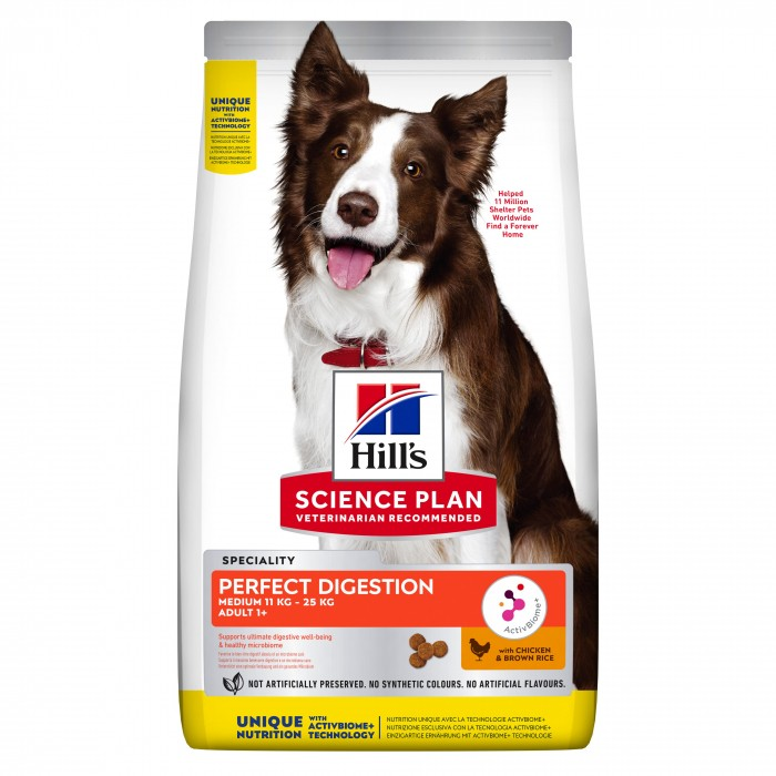 Hill's Science Plan Perfect Digestion Medium Adult-