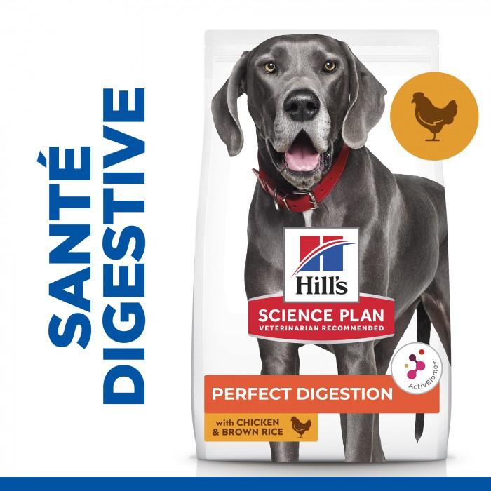 Alimentation pour chien - Hill's Science Plan Perfect Digestion Large Adult pour chiens