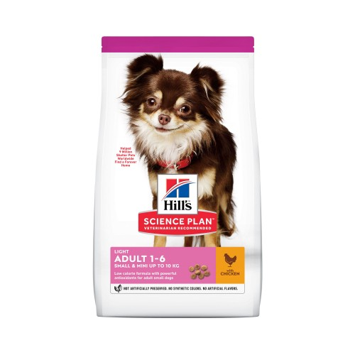 Alimentation pour chien - Hill's Science Plan Light Adult Small & Mini pour chiens