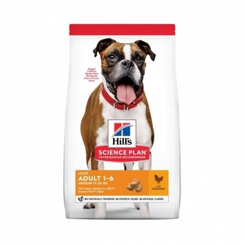 Alimentation pour chien - Hill's Science Plan Light Adult Medium pour chiens