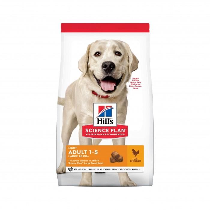 Alimentation pour chien - Hill's Science Plan Light Large Adult pour chiens