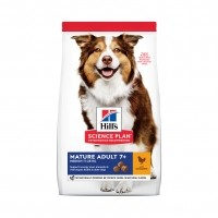 Croquettes pour chien - HILL'S Science plan Mature Adult 7+ Medium